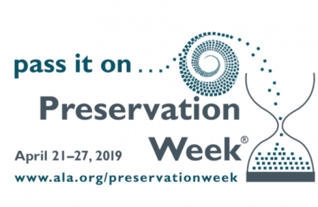 ALA Preservation Week Logo