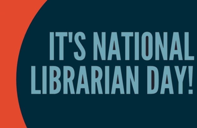 It's National Librarian Day!