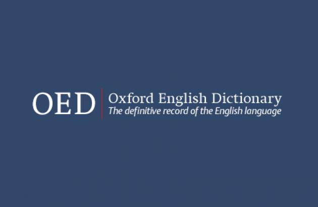 Oxford English Dictionary logo