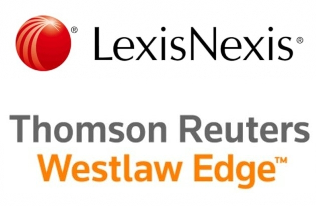 LexisNexis and Westlaw logos